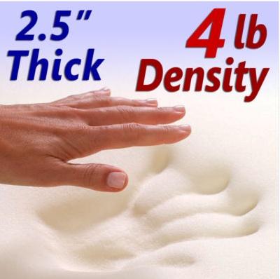Twin Size Memory Foam Mattress Topper Costco Clinic