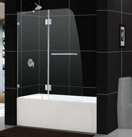 Stationary Sink : ... tub door with an incomparable look the 48 x 58 hinged bath tub door w